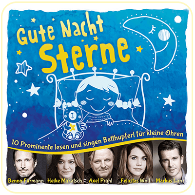 CD-Cover - Gute Nacht Sterne
